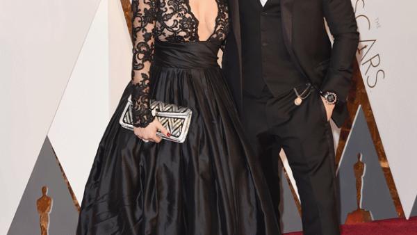 Tom Hardy y Charlotte Riley (Getty Images)