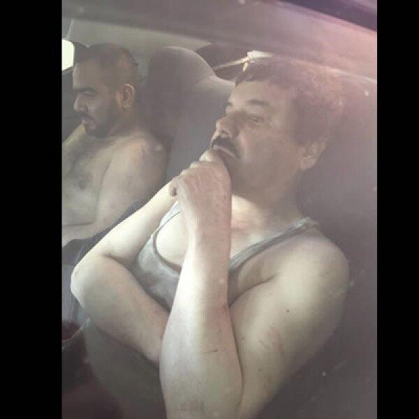 Joaquín 'el Chapo' Guzmán fue recapturado la madrugada de este viernes durante un operativo en Los Mochis, Sinaloa.