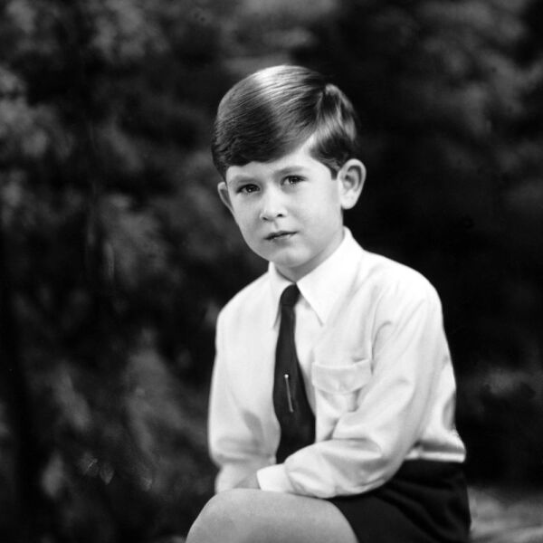 Prince Charles At The Age Of 6 In 1954