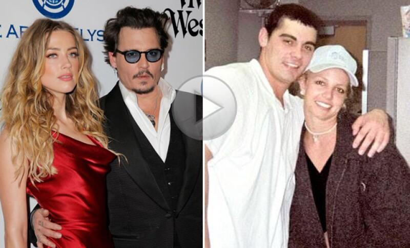 Desde 15 meses como Johnny Depp y Amber Heard, hasta 55 horas como Britney Spears y Jason Alexander. Hacemos un recuento de los matrimonios fallidos de Hollywood.