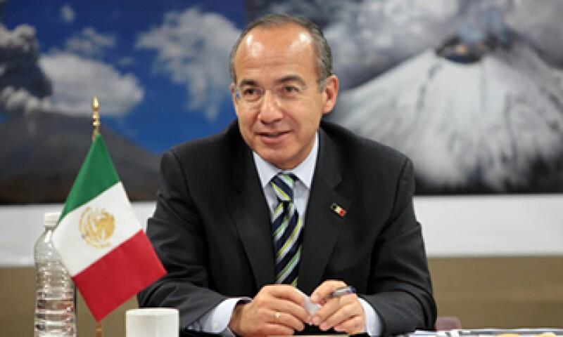Calderón recordó que muchas de las reformas promovidas en su administración no se lograron debido al PRI. (Foto: Notimex)