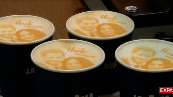 La fiebre de la boda real llega al café, de la mano del 'Megharryccino'