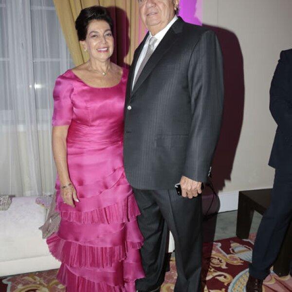 Blanca Durán de Romero Deschamps,Carlos Romero Deschamps