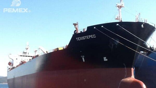Texistepec es uno de los buques adquiridos por Pemex a la empresa SPP Shipbuilding Group.