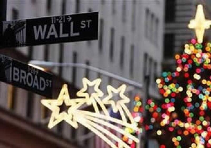 El mercado bursátil estadounidense se recuperó en 2009 de la caída en las acciones en 2008 debido a la crisis financiera. (Foto: Reuters)