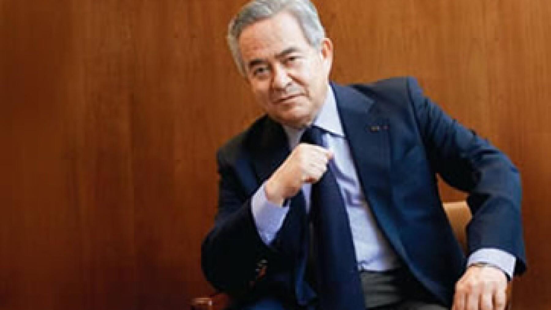 Bernardo Quintana, presidente de ICA, dijo que la compra busca incrementar sus ingresos en un 40% en un plazo de dos años.(Foto: Federico Gama)