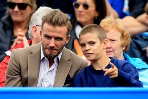 David Beckham da el mejor regalo del mundo a su hijo, Romeo.
