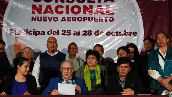Resultados de la Consulta P�blica por el Nuevo Aeropuerto