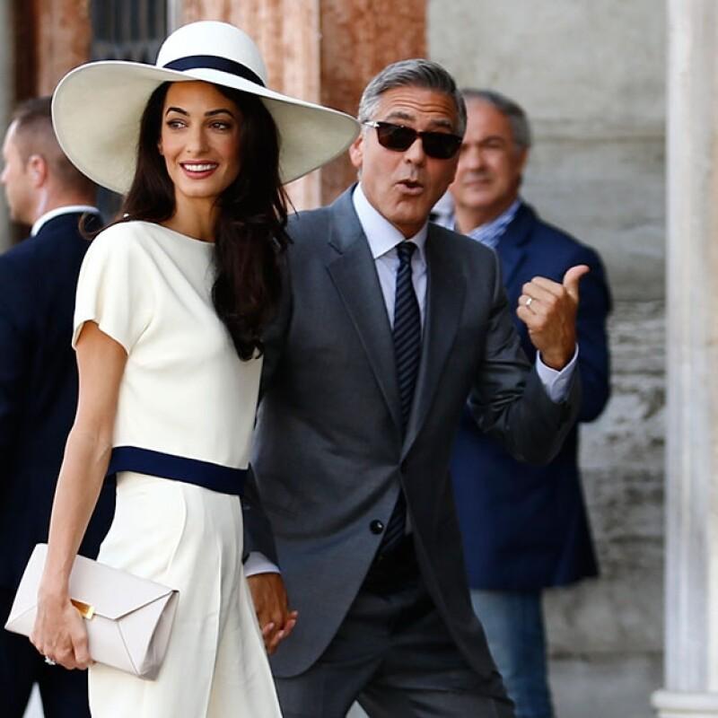 George y Amal se casaron en uno de los lugares más románticos, en Venecia.