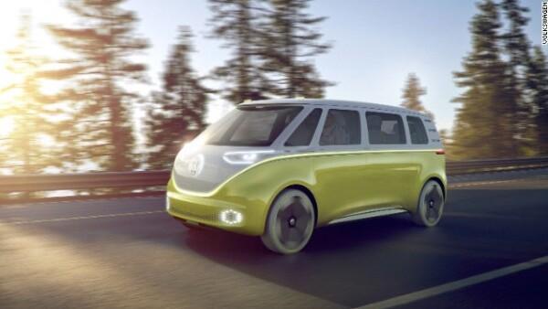 VW presenta su nueva camioneta eléctrica, 'ID BUZZ'