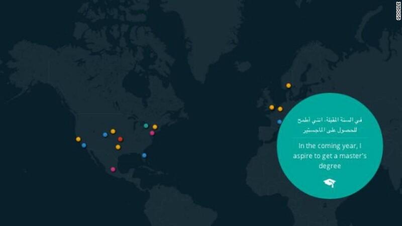 google mapa propositos Año Nuevo
