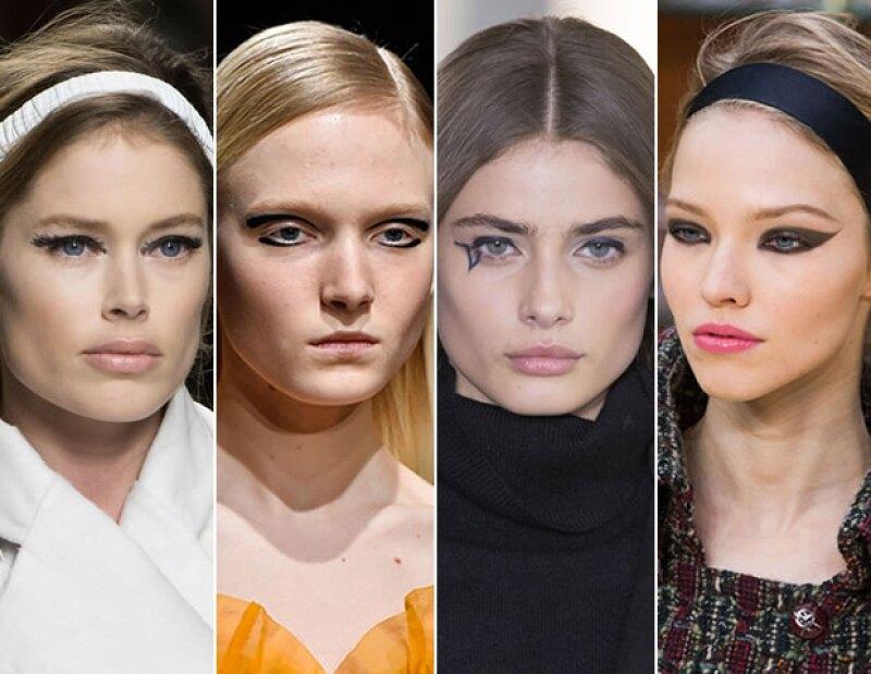 La mirada gráfica es propuesta de Fendi, Rochas, Anthony Vaccarello y Chanel.