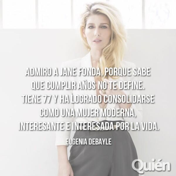 Eugenia Debayle, fundadora de The Beauty Effect. Ha hecho su propio camino en el mundo de la belleza.