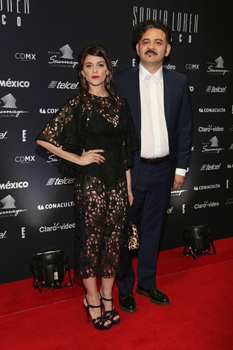 Irene y Enrique Rangel comenzaron su relación en 2012. Aquí en el evento con motivo de los 80 años de Sophia Loren que se llevó a cabo en el Museo Soumaya el pasado 20 de septiembre.