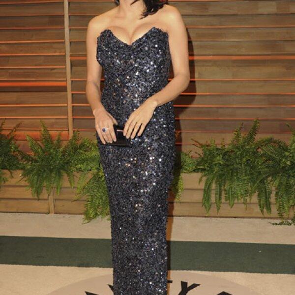 Rosario Dawson arribó con su característica personalidad.