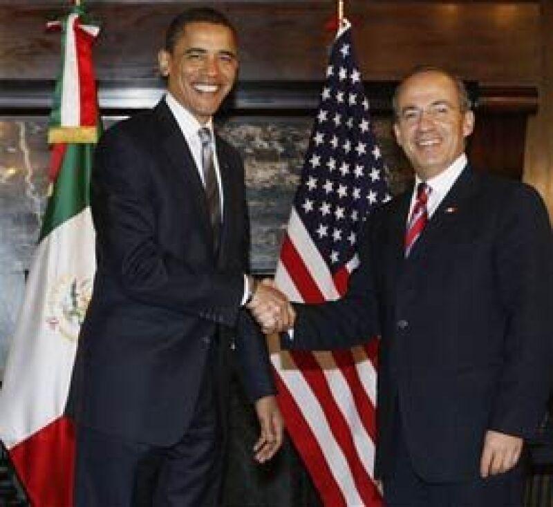 El Presidente de Estados Unidos visitará el país los días 16 y 17 de abril para discutir con Felipe Calderón temas de la agenda bilateral.