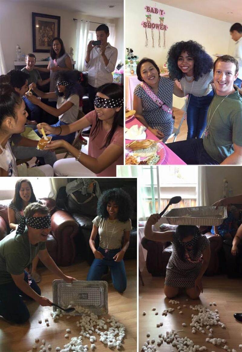 Tamales y otros platillos típicos fueron los protagonistas en el baby shower, que se llevó a cabo en la casa de la alumna de Mark, pues su familia es de Guanajuato.