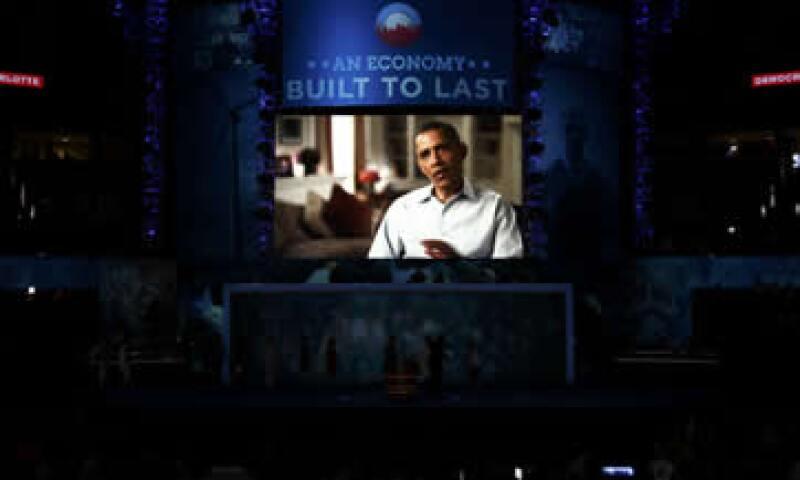 La plataforma refleja la postura del presidente de que su trabajo está inconcluso y merece otros cuatro años para terminarlo. (Foto: Reuters)