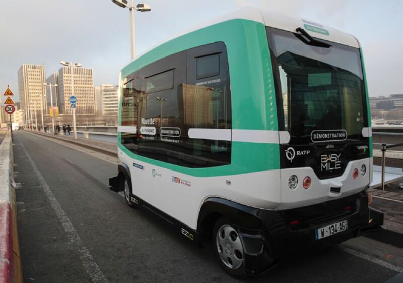 minibus autonomo paris