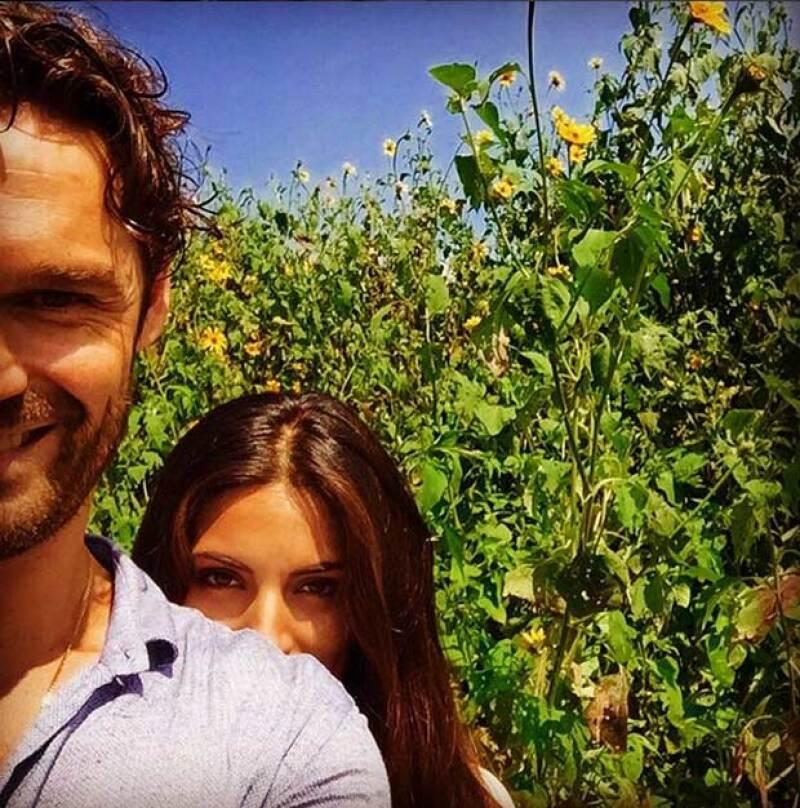 Esta fue la última foto que Iván Sánchez publicó antes de que se diera a conocer su relación con Ana Brenda.