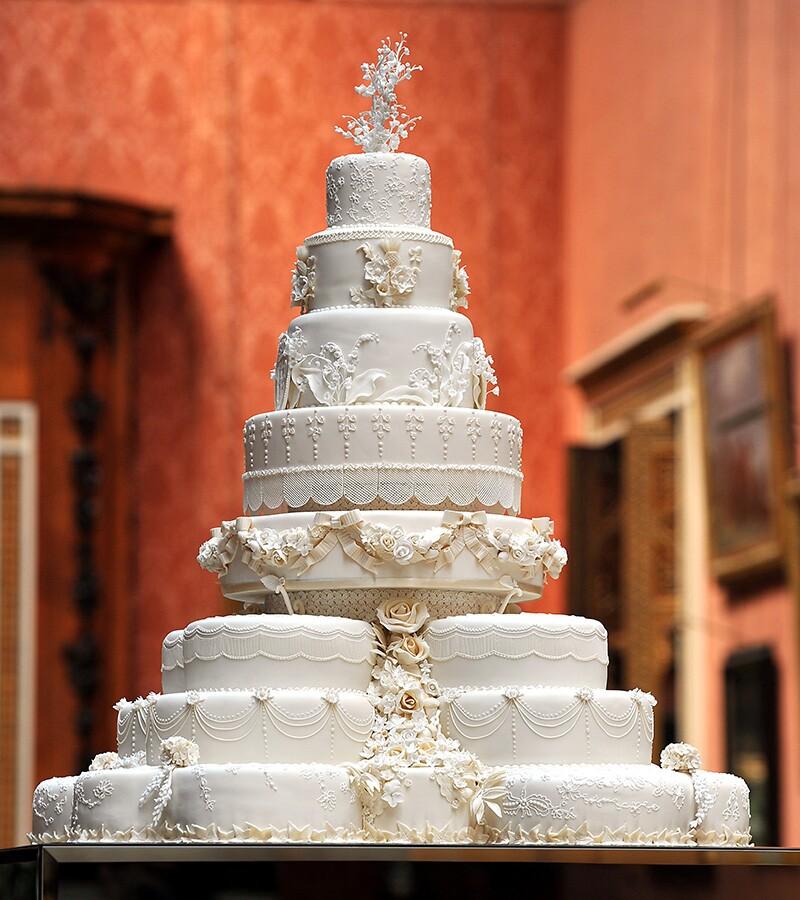 Pastel de bodas William y Kate