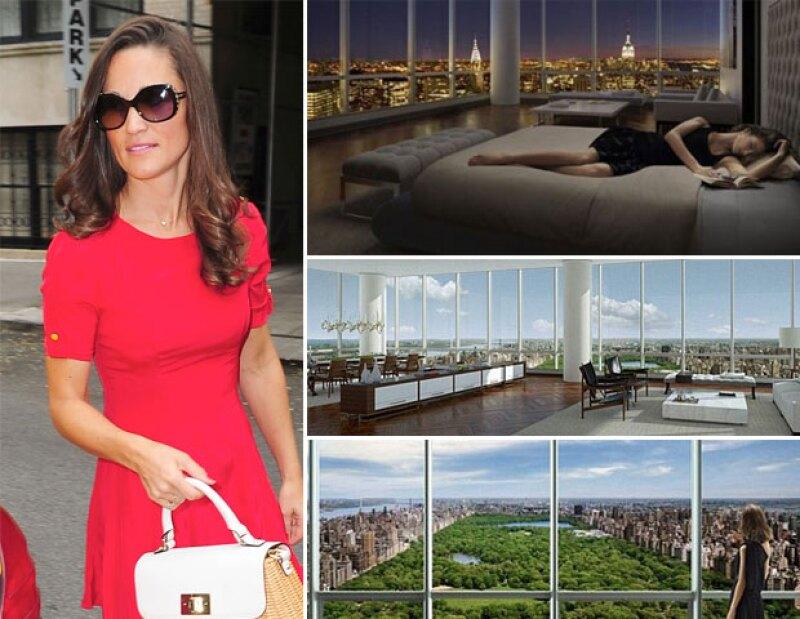 La hermana de la Duquesa planea adquirir una residencia en Nueva York, esto porque la vieron visitando algunos inmuebles en su última visita a dicha ciudad.