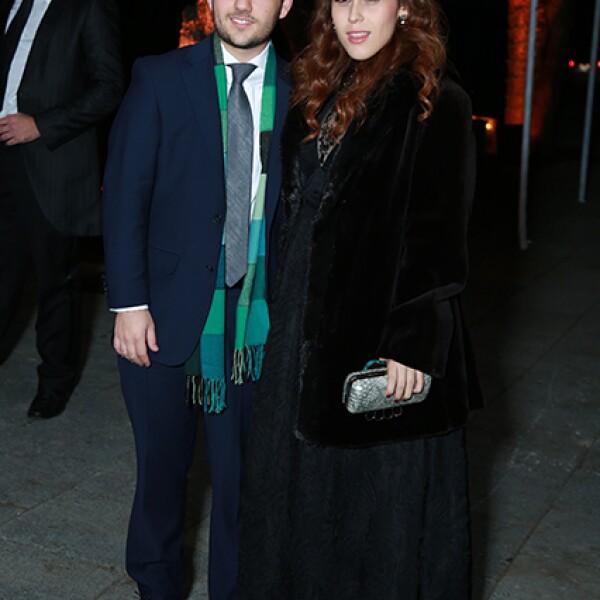 Enrique Walsh y Marcela Benavides