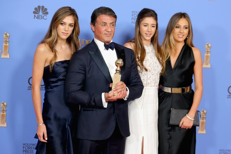 Stallone family
