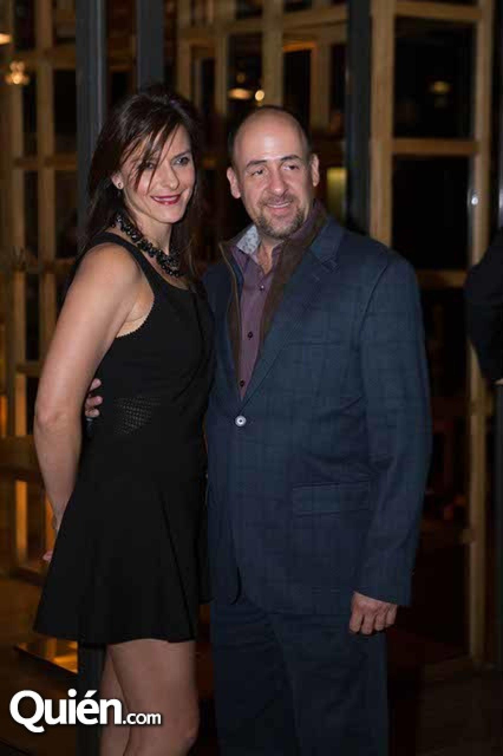 Carol Hanono y Raúl Sayrols