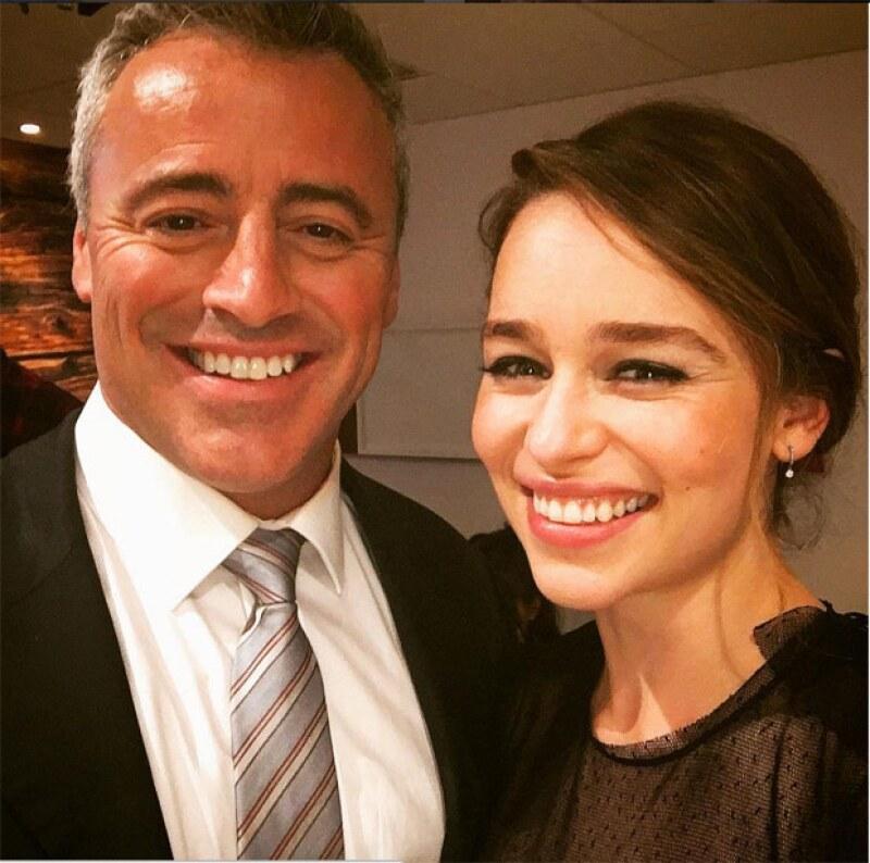 """Ew! Tienes que ver lo que dijo Matt LeBlanc sobre las escenas de """"Game of Thrones"""" donde Emilia Clarke aparece desnuda."""
