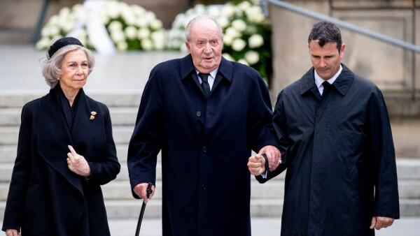 Sofía de España y Juan Carlos de España