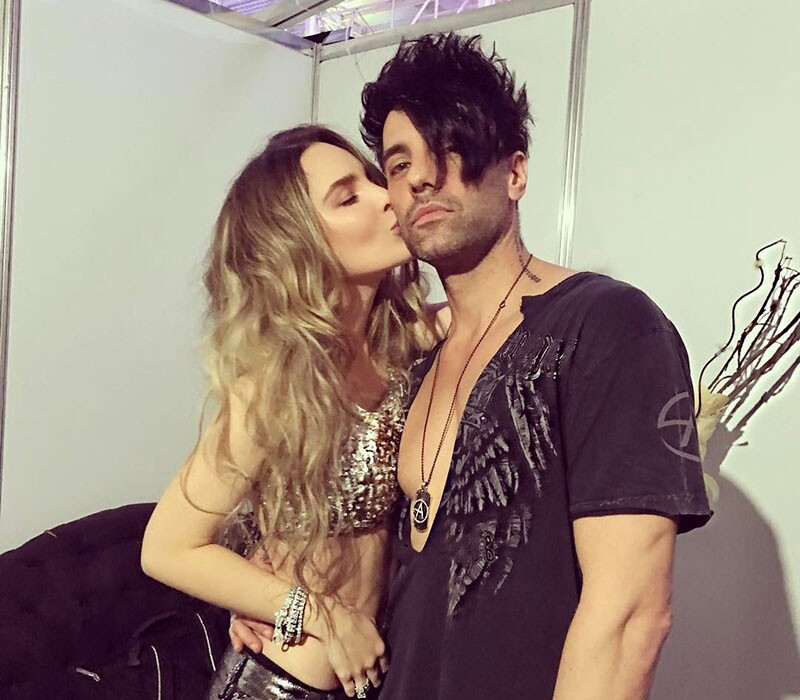 Criss Angel y Belinda