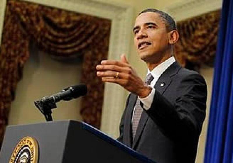 Obama espera que la Comisión del Presupuesto en el Congreso apruebe una estrategia que les de viabilidad ante la debacle económica.  (Foto: AP)