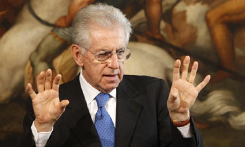 Mario Monti fue designado en noviembre para encabezar el Gobierno italiano. (Foto: AP)