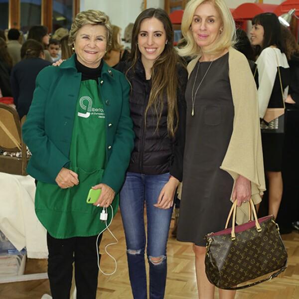 Malu Mariscal,Fernanda Morales,Jacqueline Brok de Morales