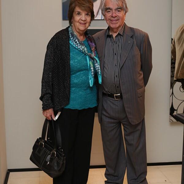 Ofelia Aldrete y Marcos Acosta