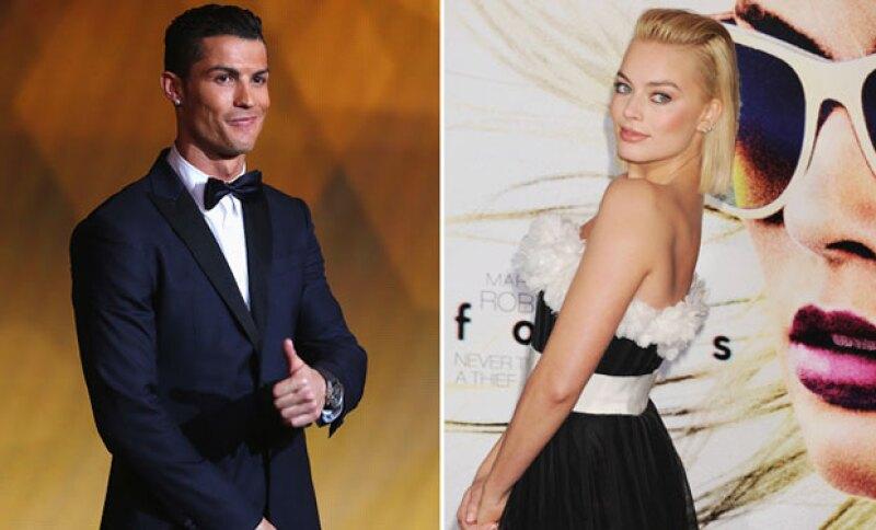 Este fin de semana el futbolista portugués dio indicios de sentirse atraído por una guapa actriz, dando a entender que Irina finalmente ha quedado en el pasado.