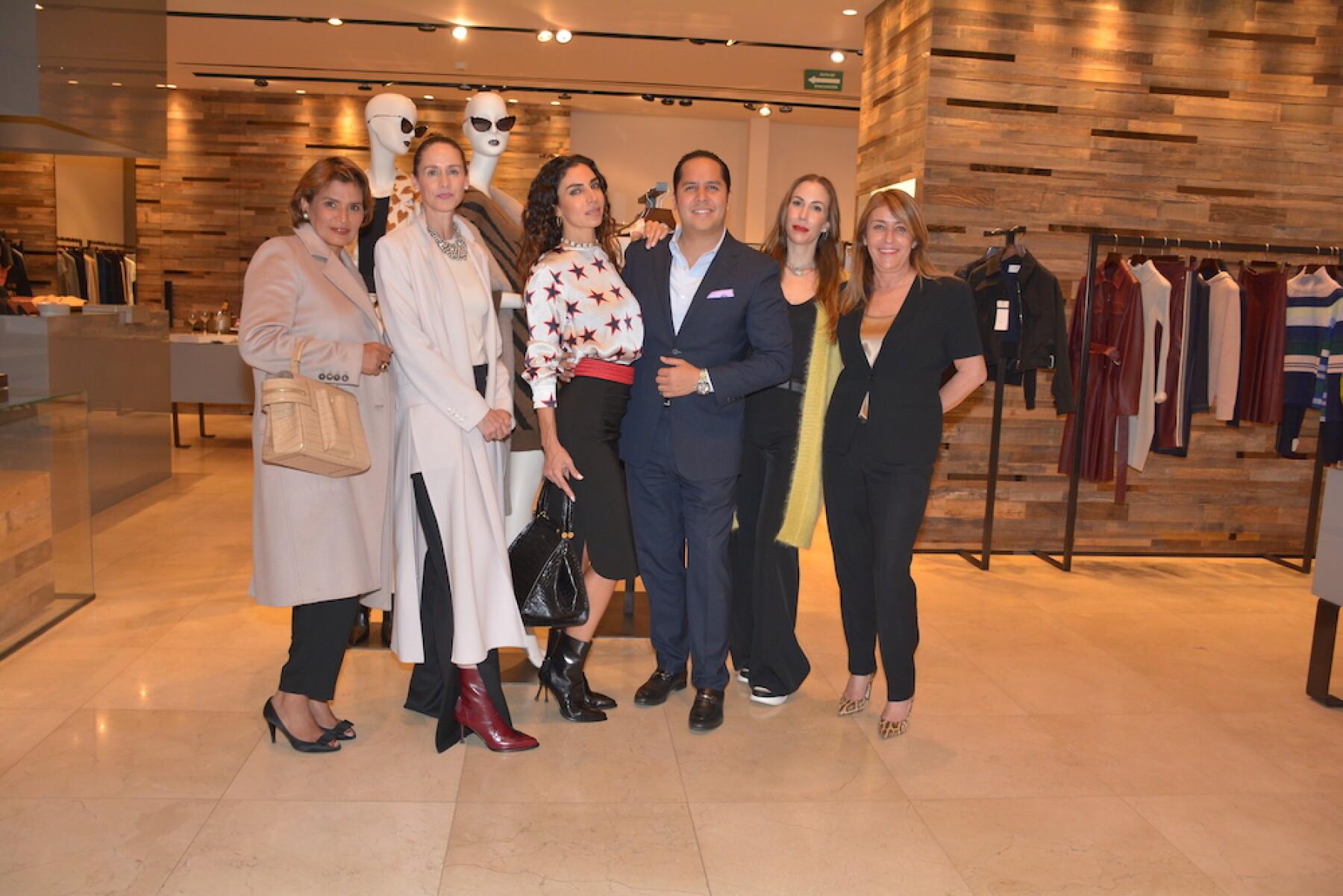 Sara Cuéllar, Karen Otero, Ivonne Marcos, Alberto Cervantes, Brenda Jaet y Francesca Tinghi.