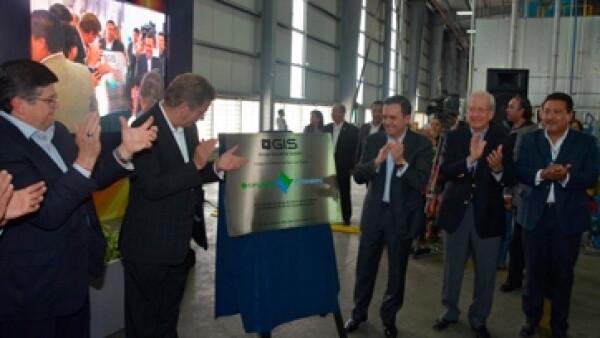 inauguraci�n de planta en SLP