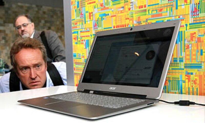 A diferencia de las netbooks, las ultrabooks corren la última versión del sistema Windows. (Foto: Cortesía CNNMoney)