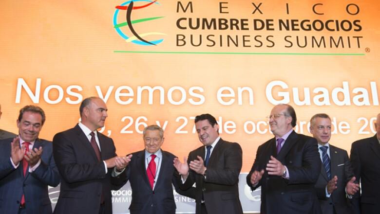 La México Cumbre de Negocios reunió en su tercer y último día de actividades a varios Gobernadores estatales, quienes abordaron en sus intervenciones la inseguridad en el país.