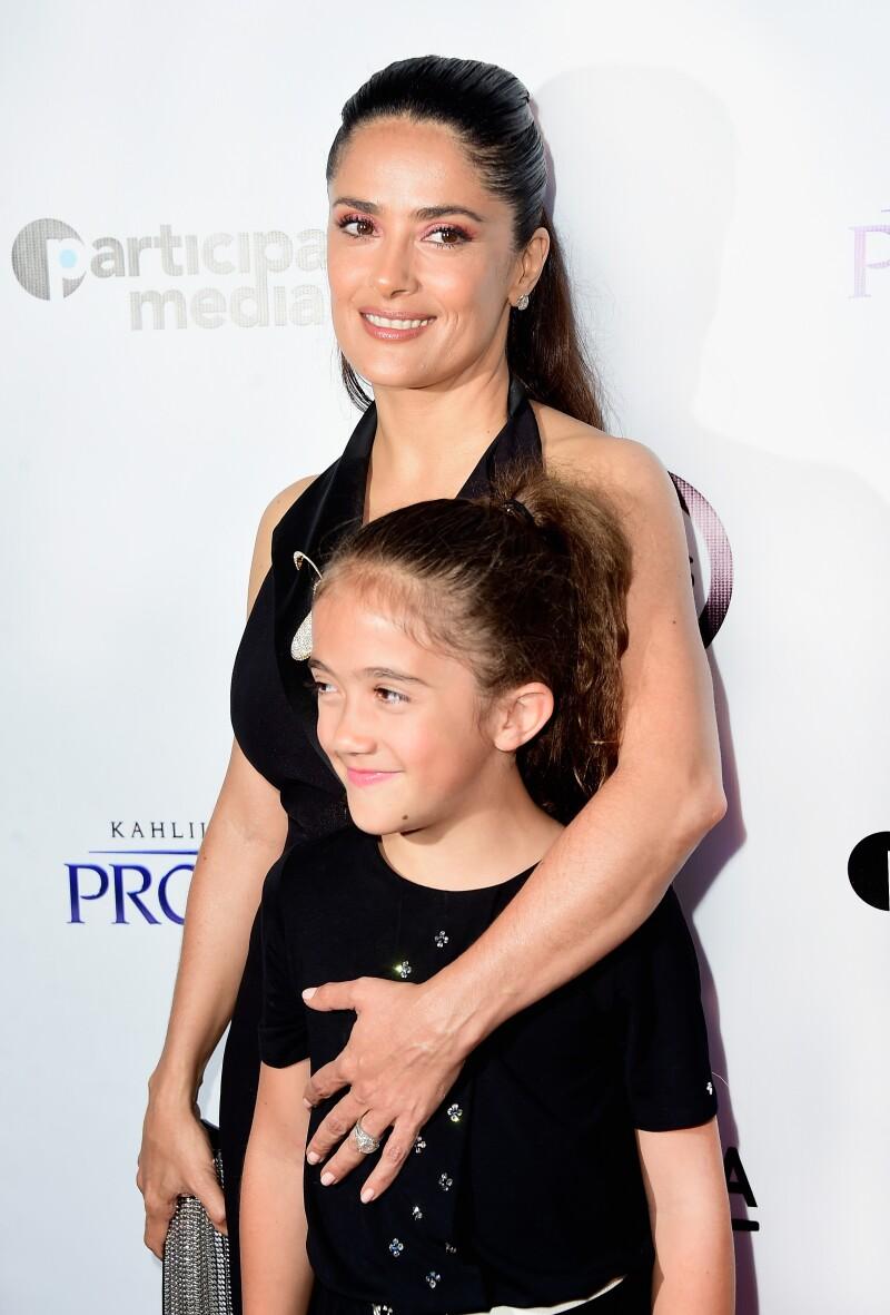 Salma Hayek le dio el mejor regalo de cumpleaños a su hija