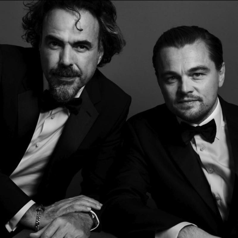 El actor nominado al Oscar dará una conferencia junto a Iñárritu el martes.