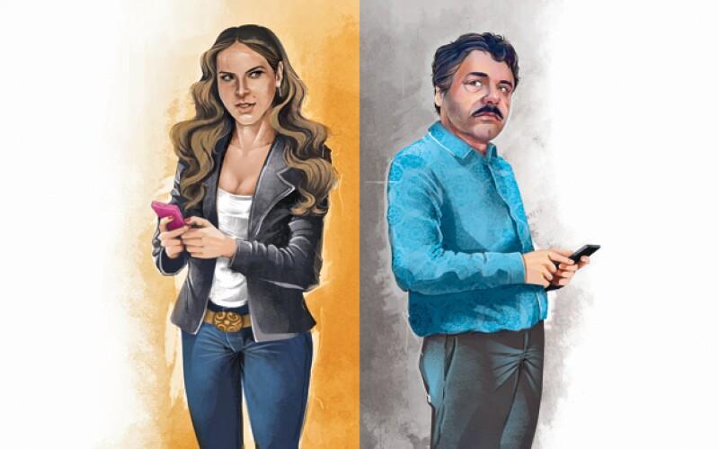 Kate t El Chapo, una historia de amor y fascinación.