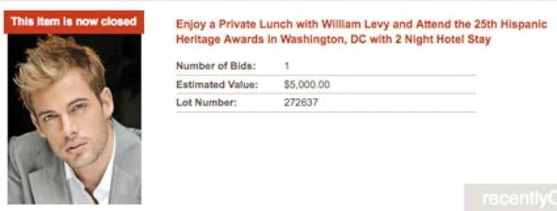 William Levy es objeto del deseo por segunda vez.