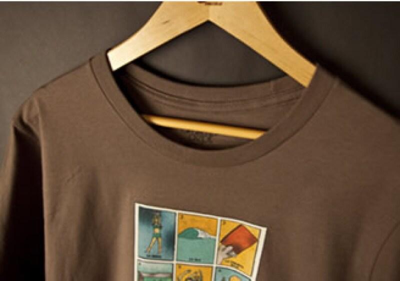 El primer diseño cuenta con ilustraciones semejantes a la tradicional lotería mexicana. (Foto: Cortesía Nike)