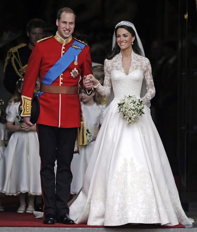 El 29 de abril de 2011 se llevó a cabo la esperada Boda Real con Kate Middleton, ante millones de espectadores alrededor del mundo.