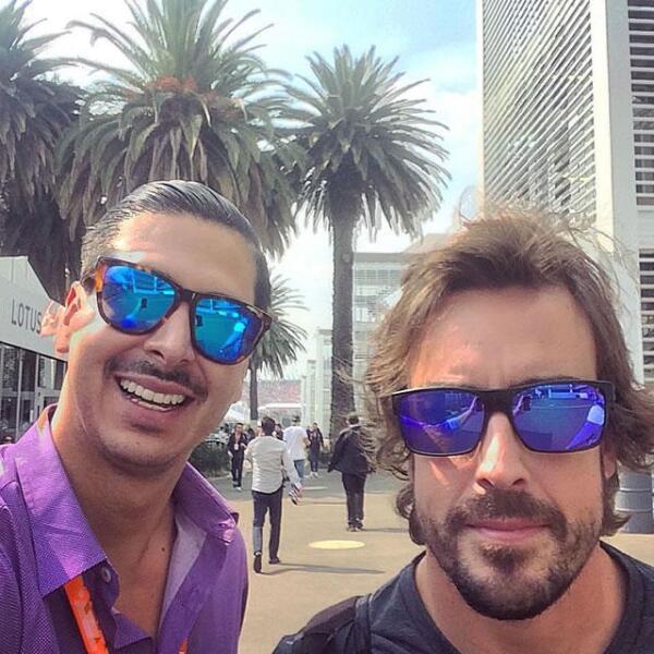 Carlos Arroyo y Fernando Alonso