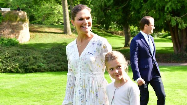 Victoria, Crown Princess of Sweden birthday celebrations, Solliden Palace, Borgholm, Sweden - 14 Jul 2020