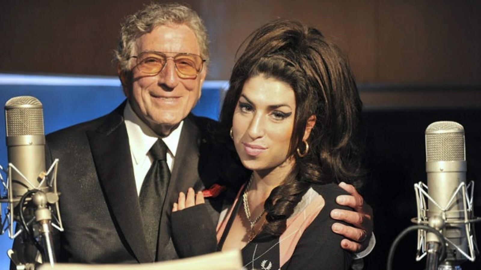 Tony Bennett y Amy Winehouse